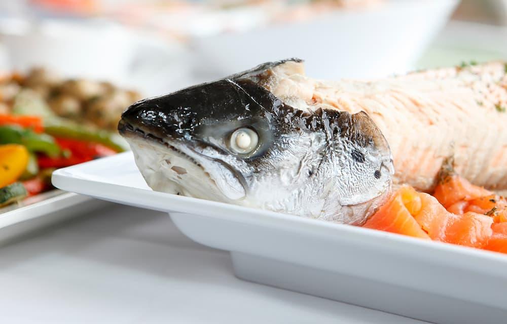 Fisch und Meeresfrüchte in der Gastronomie des Loherhof in Geilenkirchen,